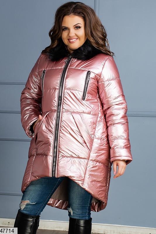 Новинка! женская зимняя куртка с капюшоном размеры:42-44,44-46