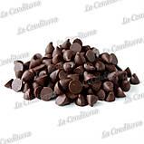Чорний шоколад у дрібних монетах (52% какао), 1 кг, фото 2