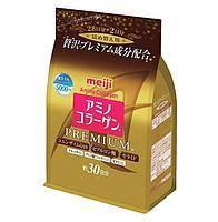 Коллаген для с гиалуроновой кислотой MEIJI Amino Collagen Premium Q10, 214гр