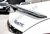 Карбоновый спойлер Mercedes C-class W205 стиль Brabus