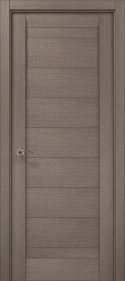 Двери межкомнатные Папа Карло ML-04F Дуб серый