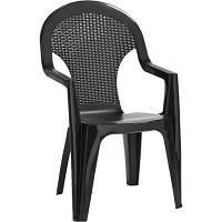 Стул садовый Allibert Santana Chair серый (0915593900)
