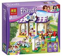 """Конструктор Bela 10558 """"Детский сад для щенков"""" Френдс, 290 деталей. Аналог LEGO Friends 41124"""