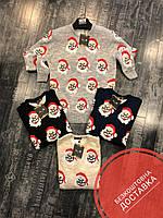 Мужской теплый свите на зиму с Дедом Морозом + Бесплатная доставка