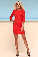 Элегантное Платье Футляр Классика Красное S-XL, фото 1