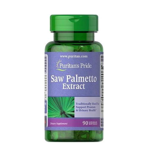 Бустер тестостерона Puritan's Pride - Saw Palmetto Extract (90 капсул)