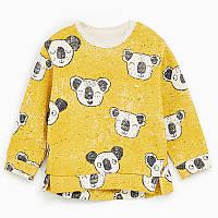 Кофта для мальчика Koala Jumping Beans 7  Желтая (22340)
