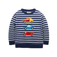 Кофта Cars Jumping Beans 7 Темно-синяя с серым (22369)