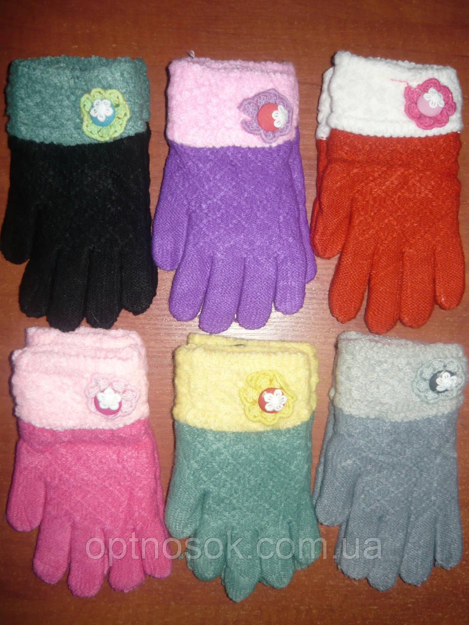 Детские перчатки Корона. Бамбук. р. М