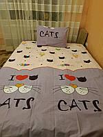 Постельное белье бязь для девочки Кот