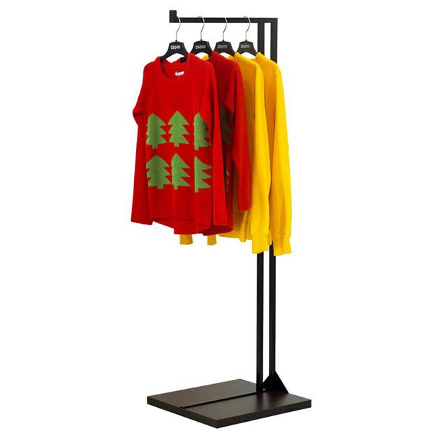 Напольная стойка для одежды «Квадро 9»