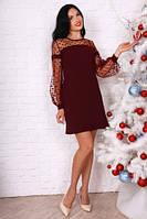 Стильное элегантное платье разных цветов.