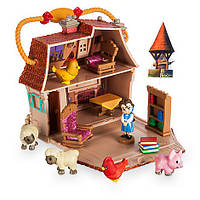 Белль Disney Animators Collection Littles Belle Micro Doll Play Set Домик Белль