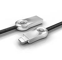 Usb кабель быстрой зарядки  Floveme с разъемом Lightening для iPhone, iPad 1 м (черный)