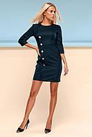 Элегантное Платье Футляр Классика Изумруд S-XL, фото 1