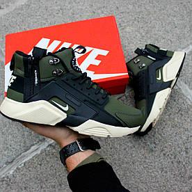 Nike Huarache Winter Acronym 2017 black haky (в стиле nike)