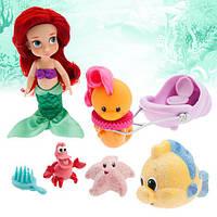 Игровой набор с мини куклой Ариэль Disney Animators Collection