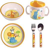 """Набор детской посуды HABA """"Животные акробаты"""""""