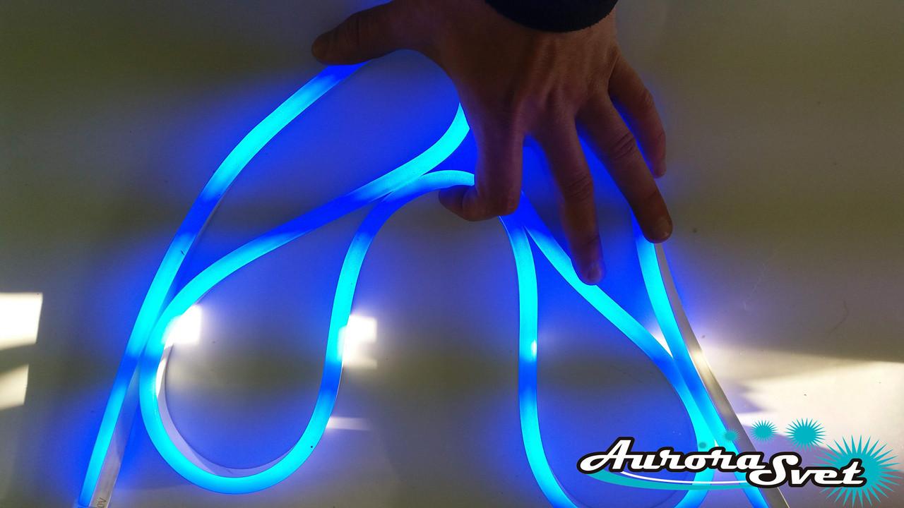 Гирлянда ДЮРАЛАЙТ синяя 220 В. Светодиодная гирлянда. Гирлянда LED.