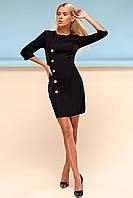 Элегантное Платье Футляр Классика Черное S-XL, фото 1