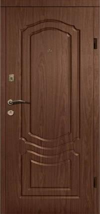 Уличные входные двери Классика винорит замки Кале, фото 2