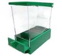 Диспенсер для валиков, выдвижной (зеленый)