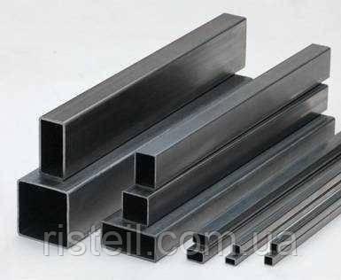 Труба квадратная стальная, профильная  40х40х1,5 мм