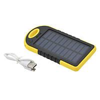 Solar power bank, портативная зарядка на солнечной батарее, ES500 (46733)
