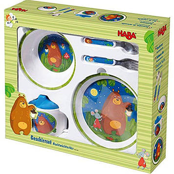 "Набір дитячого посуду HABA ""Ведмедик"""