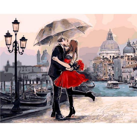 Картина по номерам Идеальное свидание, 50x65 см., Babylon