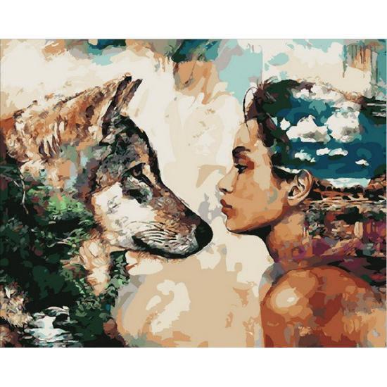 Картина по номерам Мы одной крови, 50x65 см., Babylon