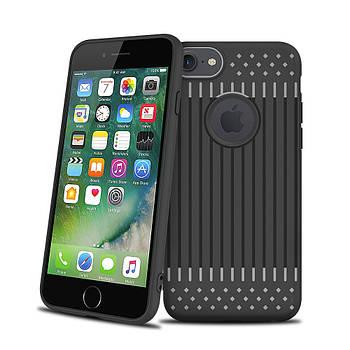 Чехол накладка Primo Shell TPU для Apple iPhone 7 / iPhone 8 - Black