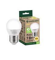Сфера Лампа светодиодная ENERLIGHT G45 7Вт 3000K E27 Ш.К. 4823093500310