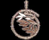 Подвеска - кулон серебряная Ветвь 60190, фото 2