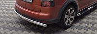 Задняя защита для Volkswagen Touareg (07-10) VWTG.07.B1-08.6