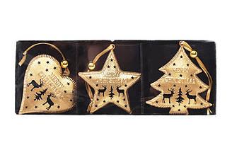 Набір іграшок новорічних BonaDi 785-524 3шт