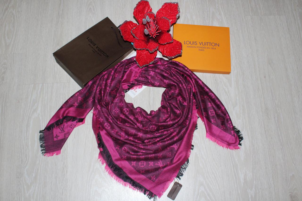 6b2c5b1a3596 Платок Louis Vuitton фуксия двусторонний  продажа, цена в Одессе ...