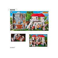 Домик для кукол Животные Флоксовые Metr+ 012-01
