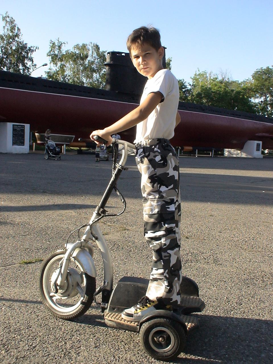 Брюки детские Кадет для мальчиков камуфляж Спецназ