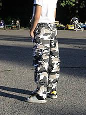 Брюки детские Кадет для мальчиков камуфляж Спецназ, фото 3