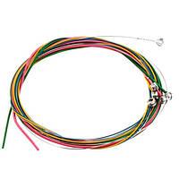 Цветные струны IRIN CL-6 для акустической гитары