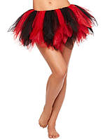 Красно-черная юбка пачка