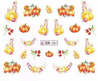 Слайдер-дизайн для ногтей BN-361