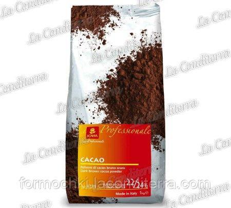 Какао-порошок PH=8 (22-24% жирности), 1 кг