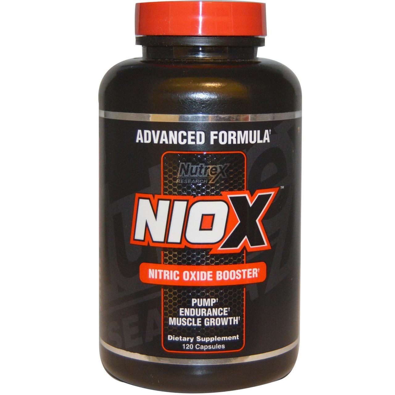 Предтренировочник Nutrex NIOX 120 caps
