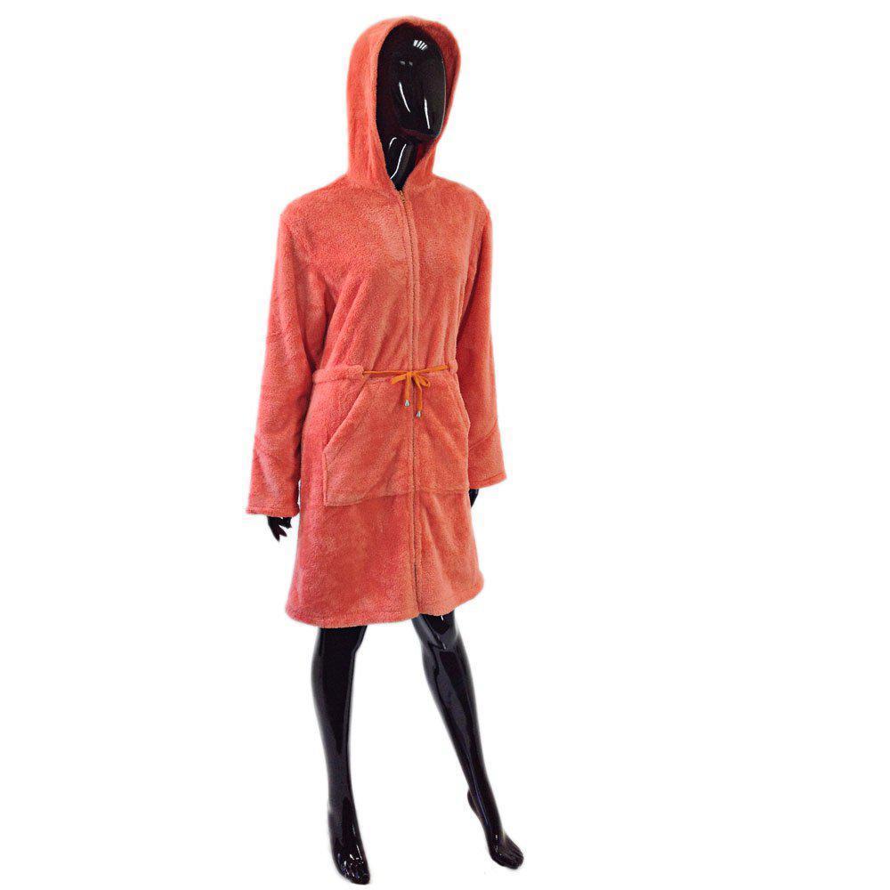 Soft show collection Халат-кенгуру женский из микрофибры SOFT SHOW COLLECTION (СОФТ ШОУ КОЛЛЕКШН) SS42-2
