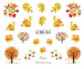 Слайдер-дизайн для ногтей BN-364