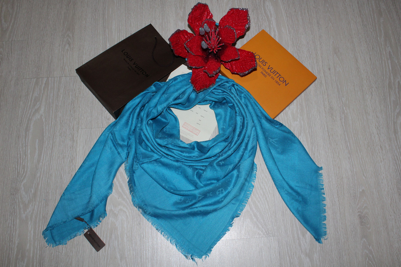 05589f88fc65 Платок Louis Vuitton небесно голубой  продажа, цена в Одессе. от ...