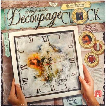ДЕКУПАЖ «DECOUPAGE CLOCK» С РАМКОЙ DKC, фото 2