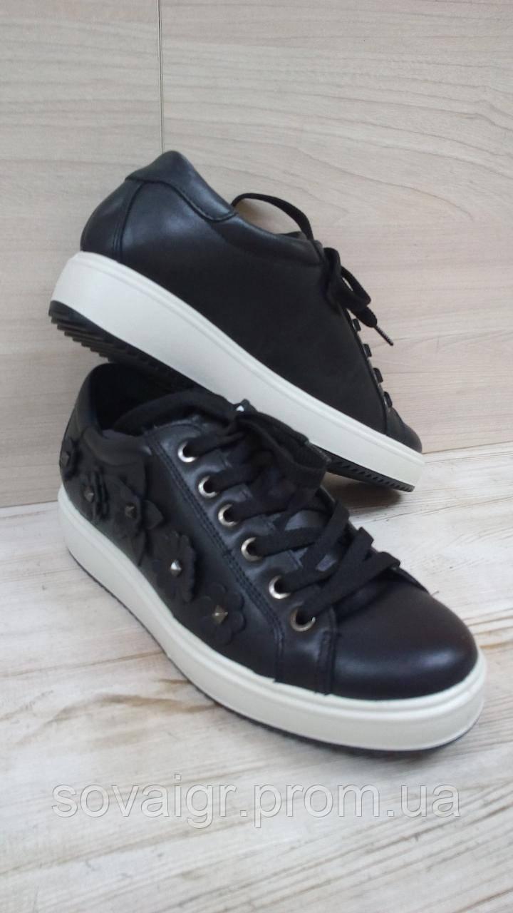 Кроссовки для девочки кожаные итальянские IMAC